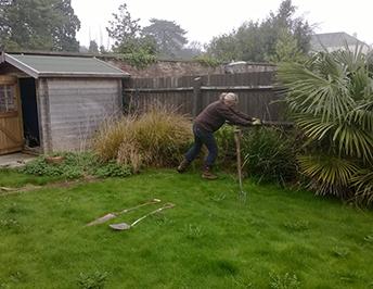 Italian Garden work in progress